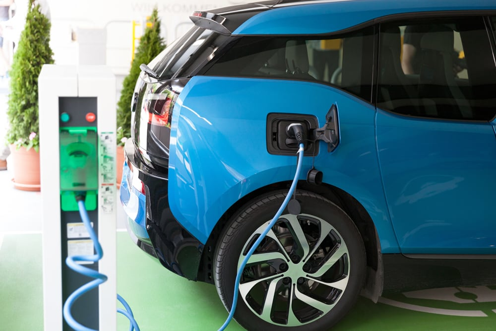 Home charging for electric vehicles in MK